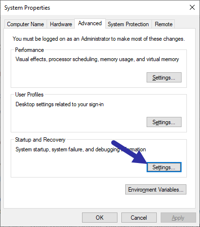 Disable-automatic-restart-windows-10-click-settings