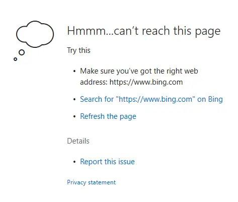 Windows firewall - edge blocked