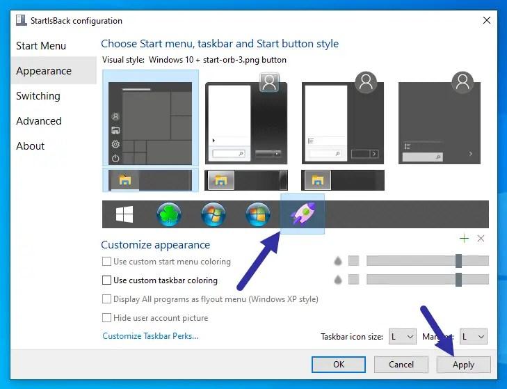 Change-start-button-icon-windows-10-select-custom-icon