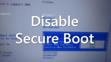 Disable secure boot acer - featured