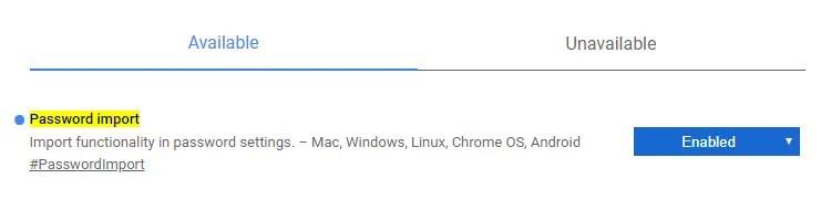 Import-passwords-in-google-chrome-enable-flag