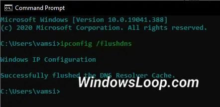 Clear-dns-cache-command-230720