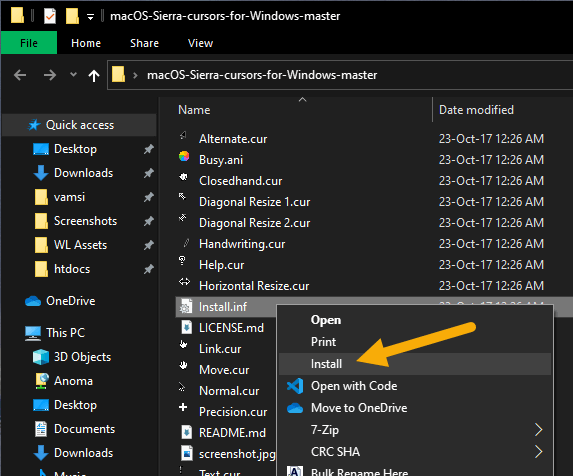 Install-mac-cursor-in-windows-160720