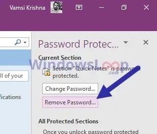 Remove-onenote-2016-password-020820