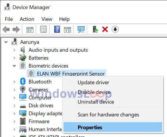 Fingerprint-scanner-device-properties-in-windows-10-160920
