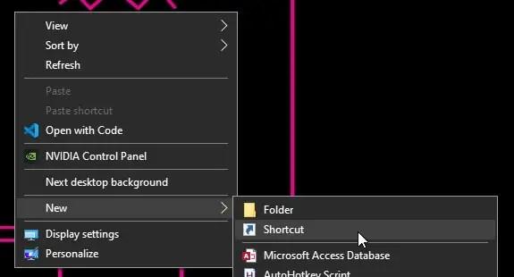 Windows 10 next background hotkey