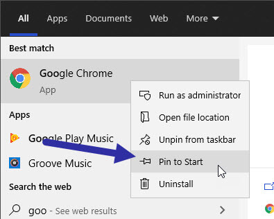 Google-chrome-start-menu-231120