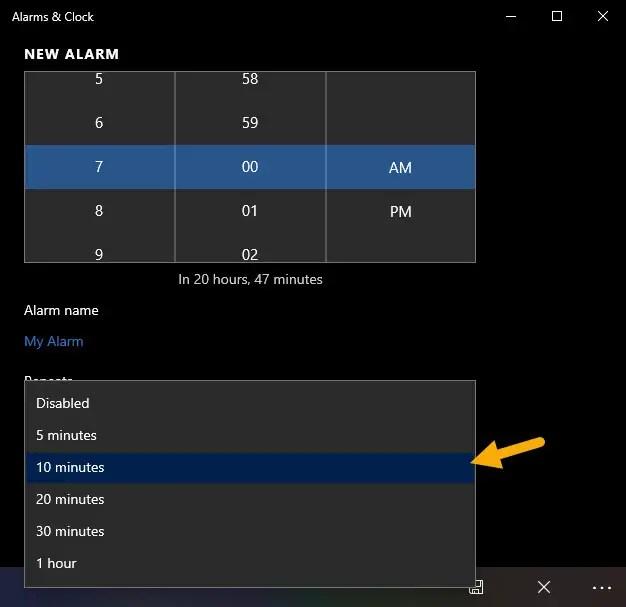 Alarm-snooze-settings-100121