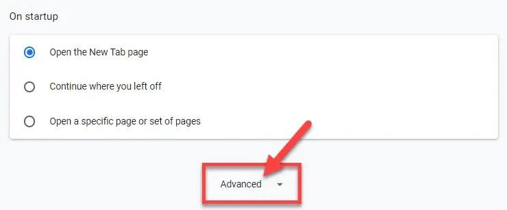 Chrome advanced settings proxy tunnel