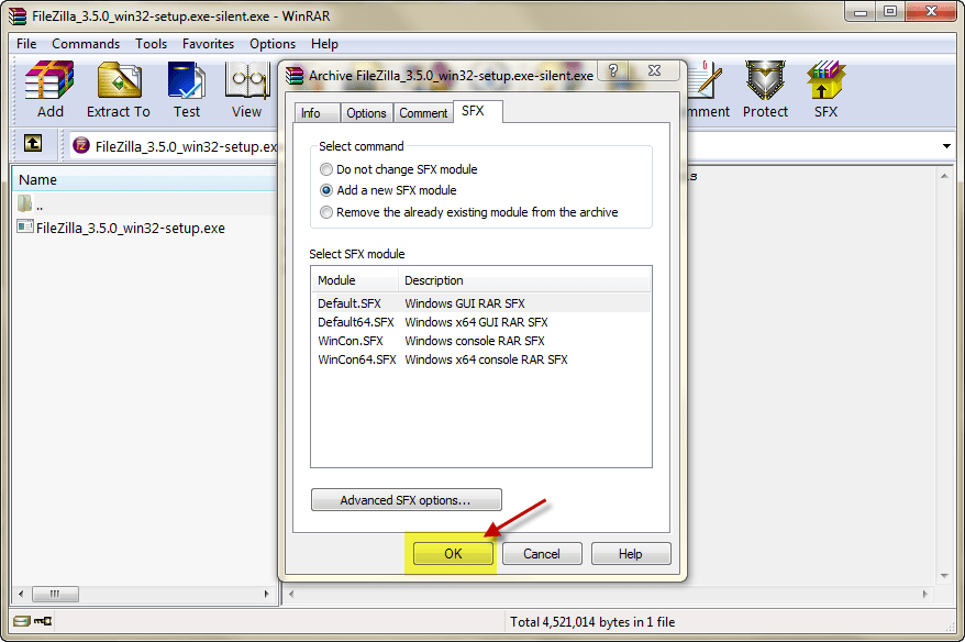 Winrar SFX png | Musings of an IT Pro