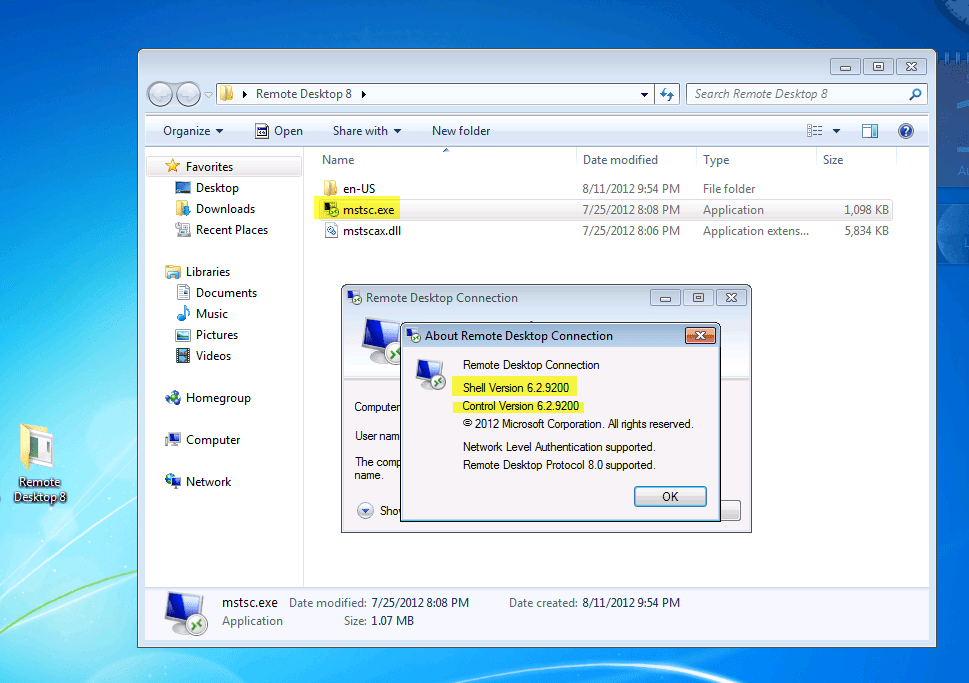 Server 2012 remote desktop client musings of an it pro for Latest windows version
