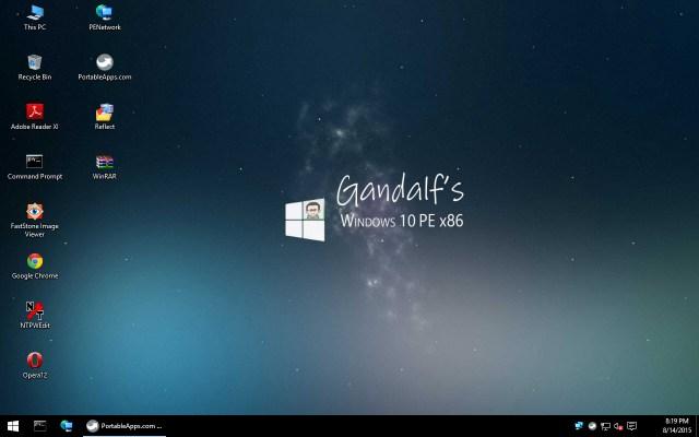 win10pe desktop