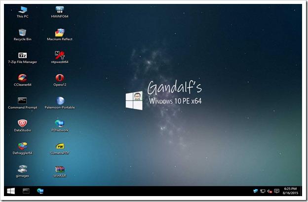 win10pe desktop64