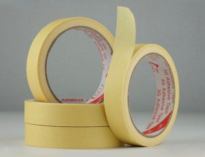 selotip bahan fidget spinner