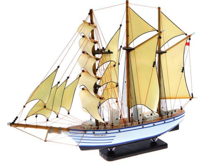 miniatur kapal dewa ruci
