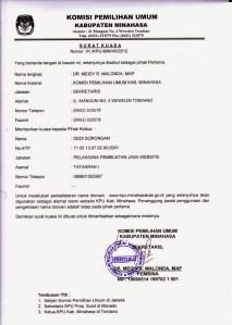 Read more about the article Contoh Surat Kuasa Dinas & Pengambilan BPKB Lengkap