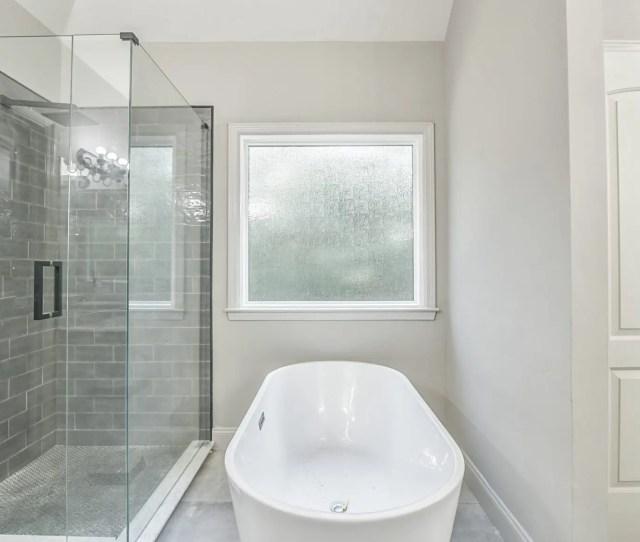Rain Glbathroom Window