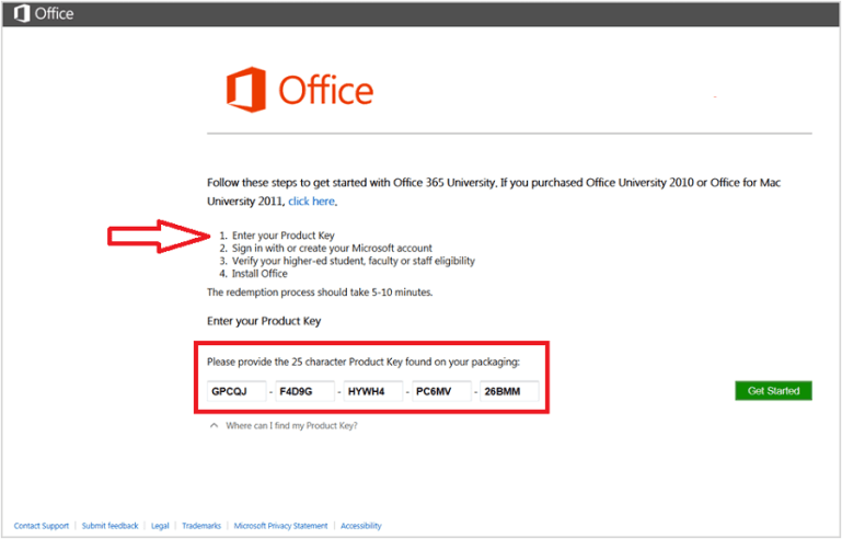 Office 365 Product Key