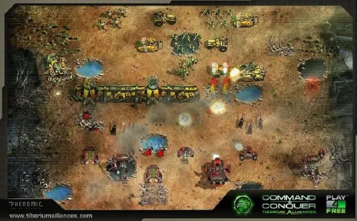 Command & Conquer Tiberium Alliances google chrome