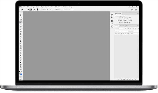 Adobe Photoshop Main Window