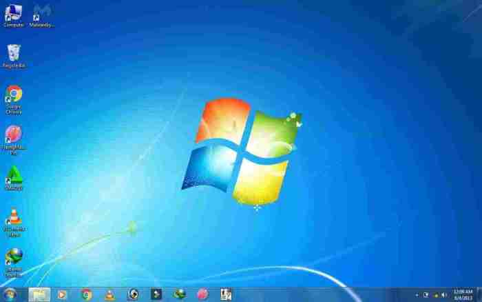 Windows 7 Desktop screenshot