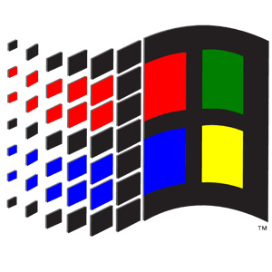 Miccrosoft Windows 3x logo