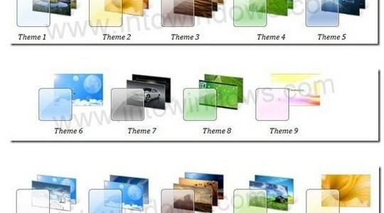 Full Official Windows 7 Themes Pack