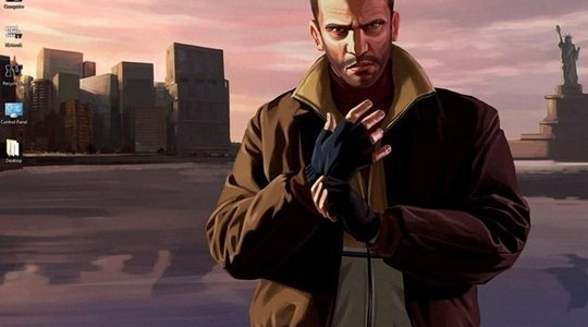GTA IV Windows 7 Theme