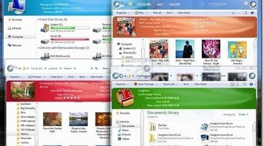 Longhorn Multitheme Windows 7 Theme 3rd Party