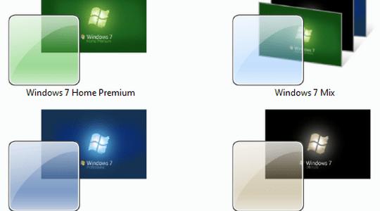 Windows 7 Box Art Windows 7 Themes Pack