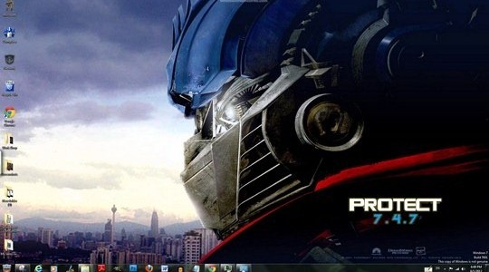 Transformers Windows Theme With Icons Sounds & Cursors