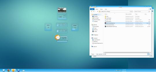 4 Free Windows 8 Visual Styles