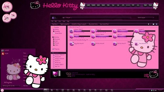 Download Free Hello Kity Windows 7 Visual Style