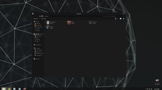 Metro8 (alpha1) Windows 8 Visual Style