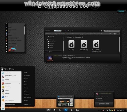 Download Free El chilapastroso Joe Renovacion Windows 7 Visual Style