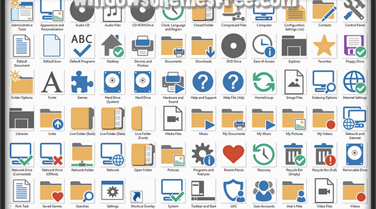 Symbiosis Windows Icons Pack