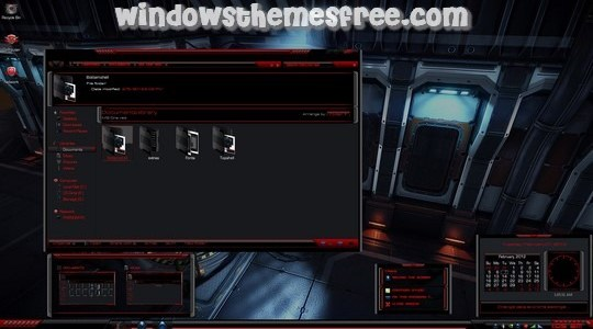 MS – ONE Red – Maximum Security One Windows 7 Visual Style