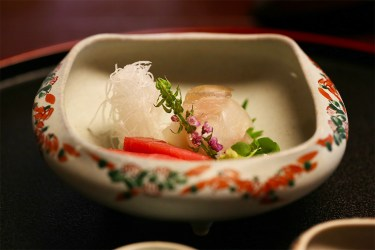 Ryokan kaiseki meal