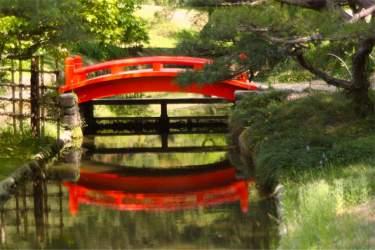 Takamatsu: Ritsurin garden bridge