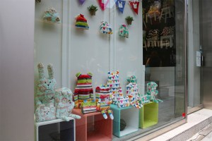 Tokyo shop window
