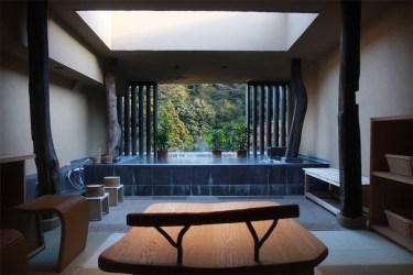 Hakone: onsen bath
