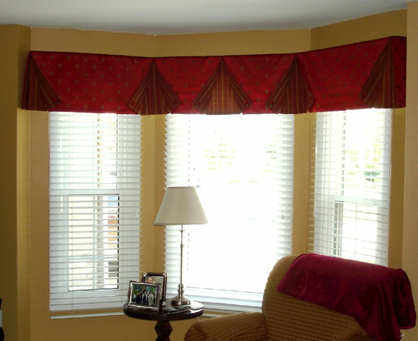 Charming Valances For Living Room