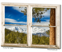 mountain window views