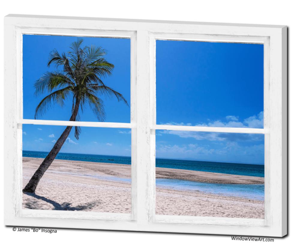 Windows with ocean views
