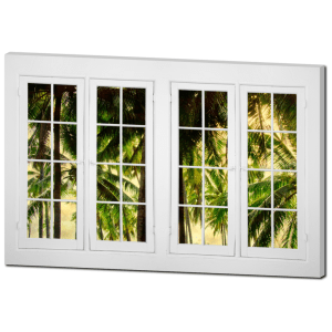 jungle window views