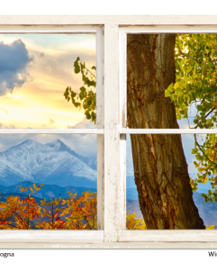 longs peak window views