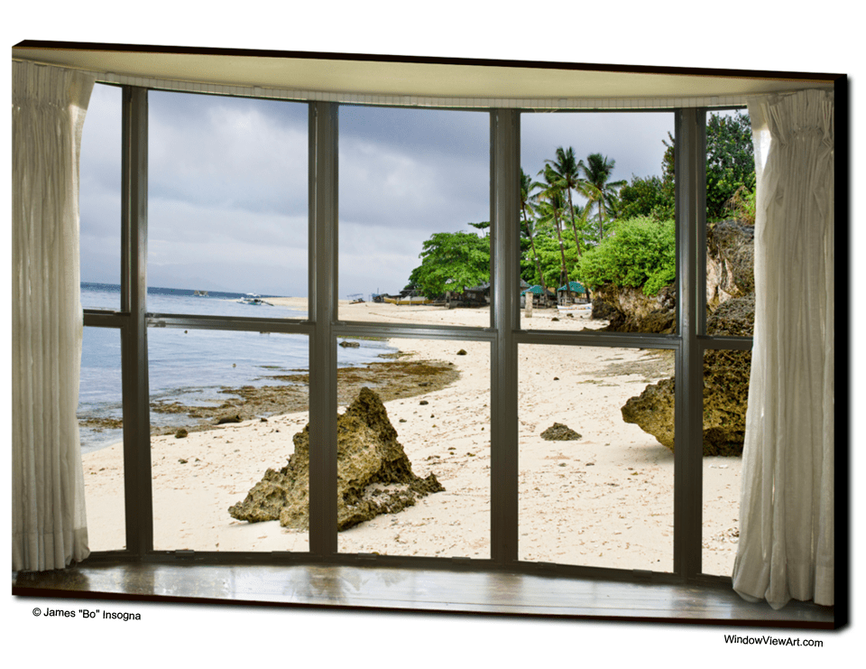 Beach Bay Window View