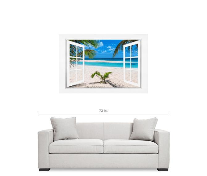 window beach scene pictures