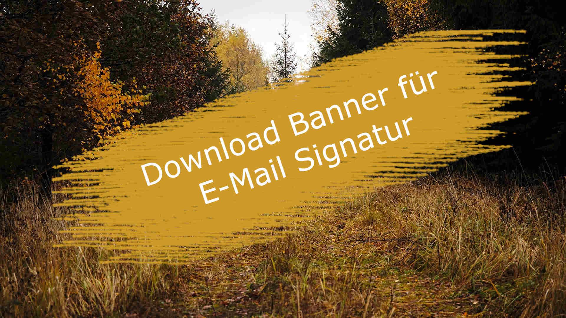 Banner für E-Mail Signatur