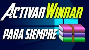 Activar Winrar 2018
